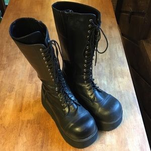Demonia Platform Punk Boots